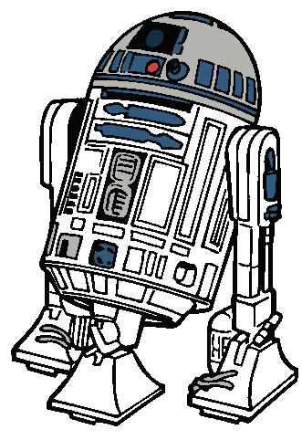 png library R2d2 clipart. R d star wars.
