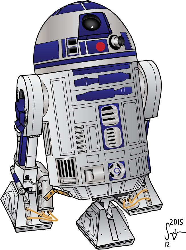 clip free download R2d2 clipart. R d drawing at.