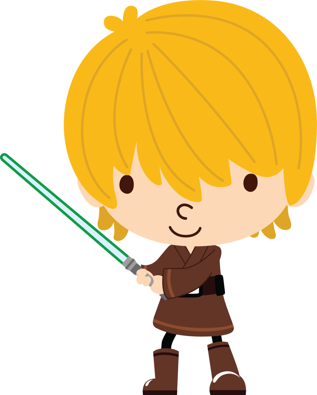 clipart free library Luke Skywalker by Chrispix