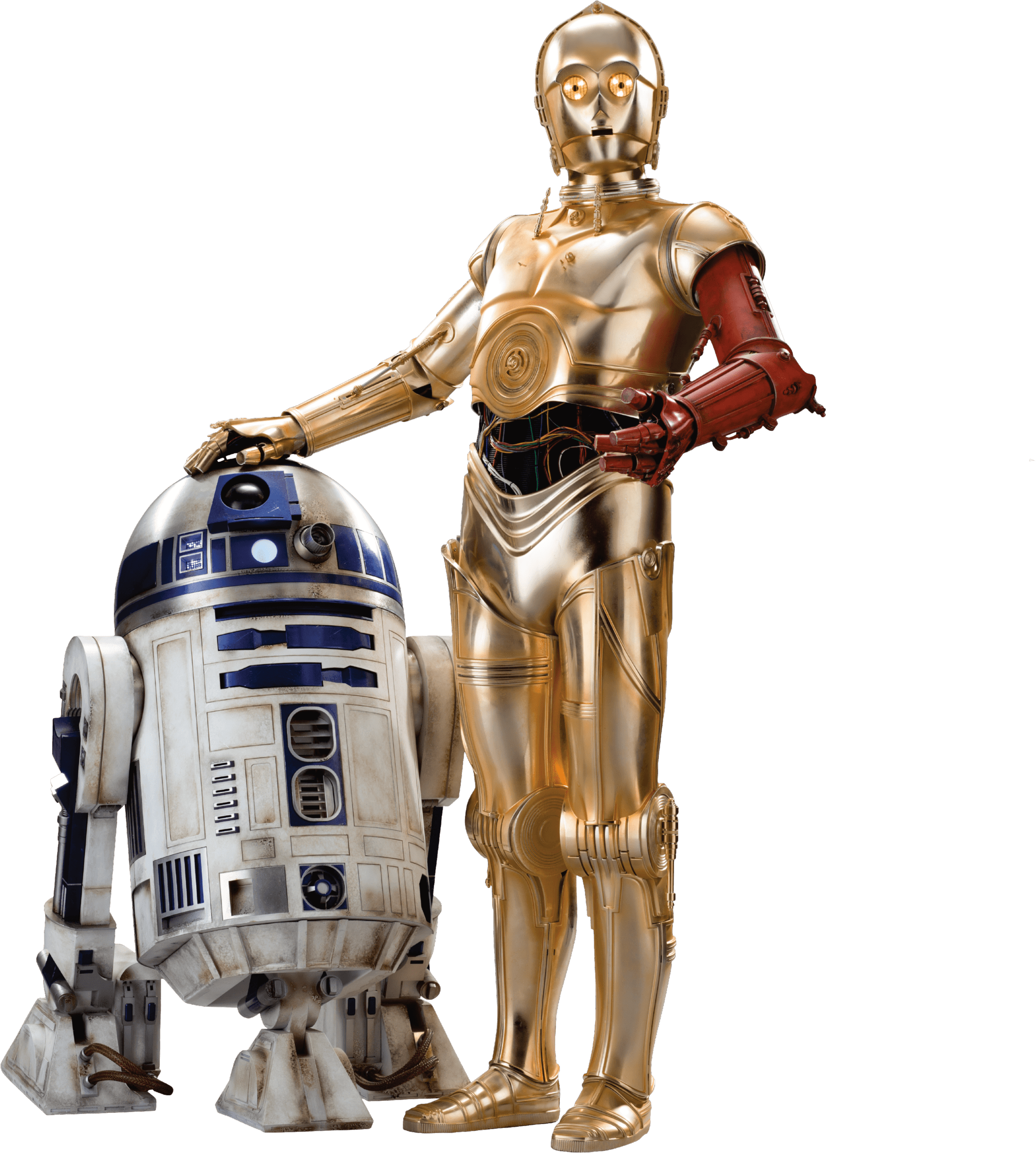 royalty free download R d c po. R2d2 transparent