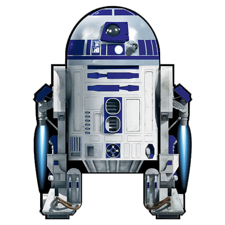 png royalty free download R2d2 transparent.  star wars supersized