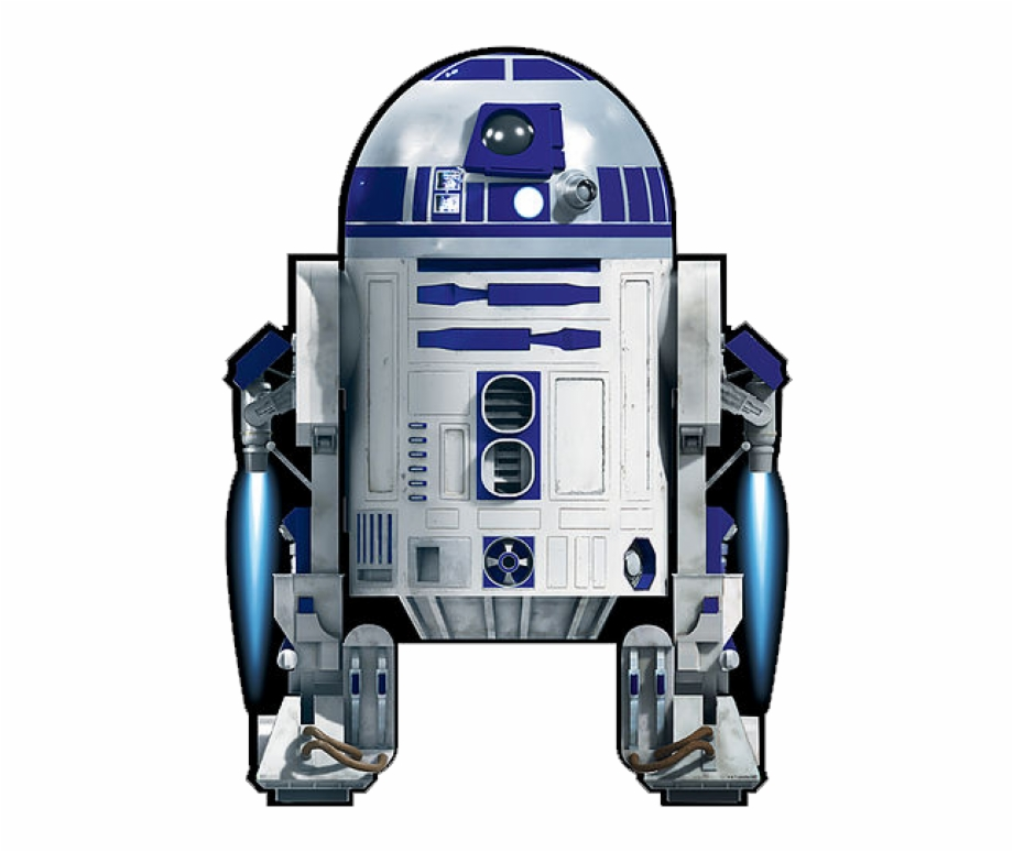 banner black and white library Image of star wars. R2d2 transparent big