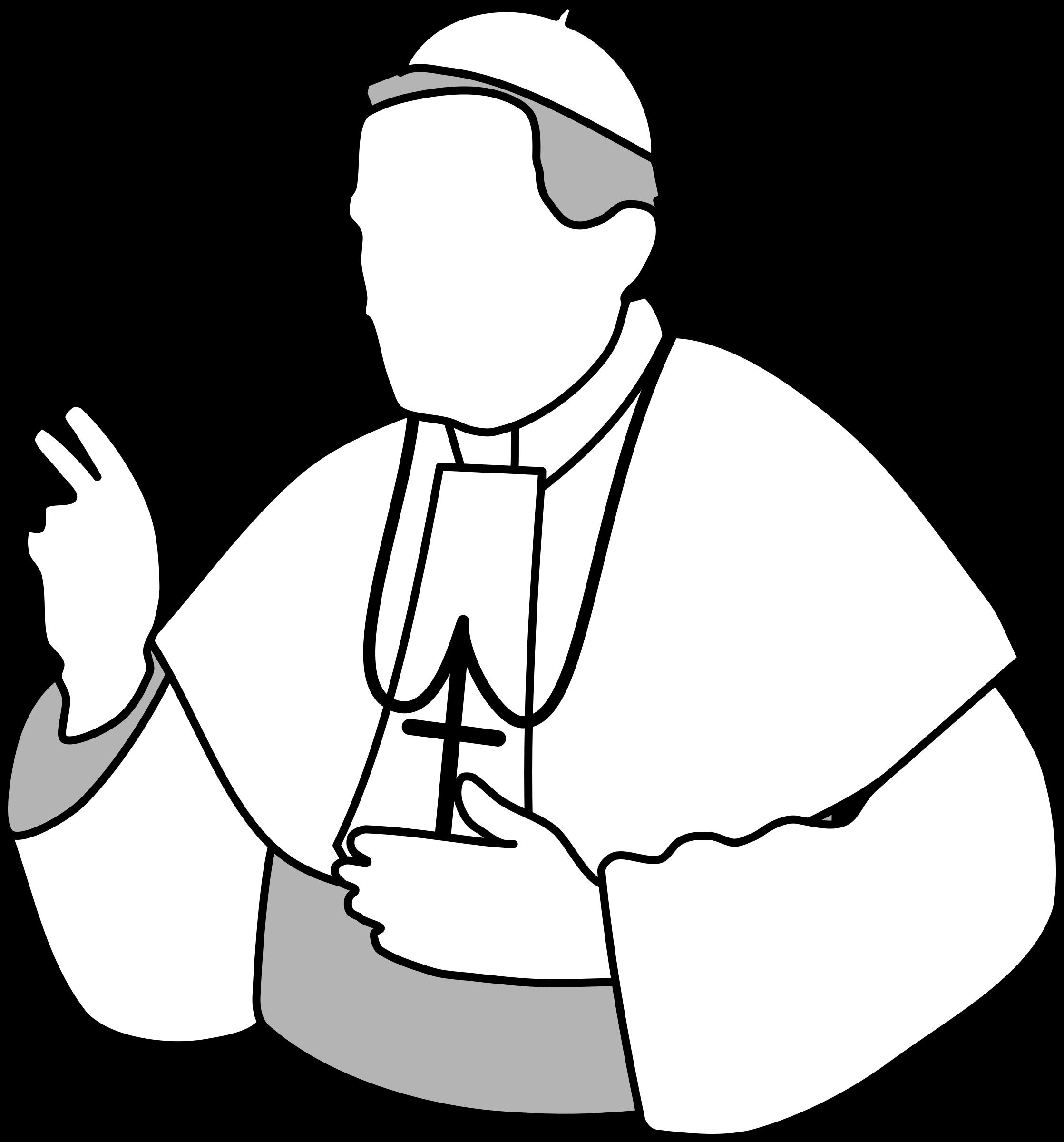free download Rabbi clipart. Pope big image png.