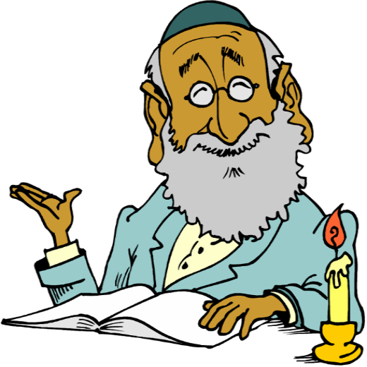 png library download Slang with the word. Rabbi clipart.