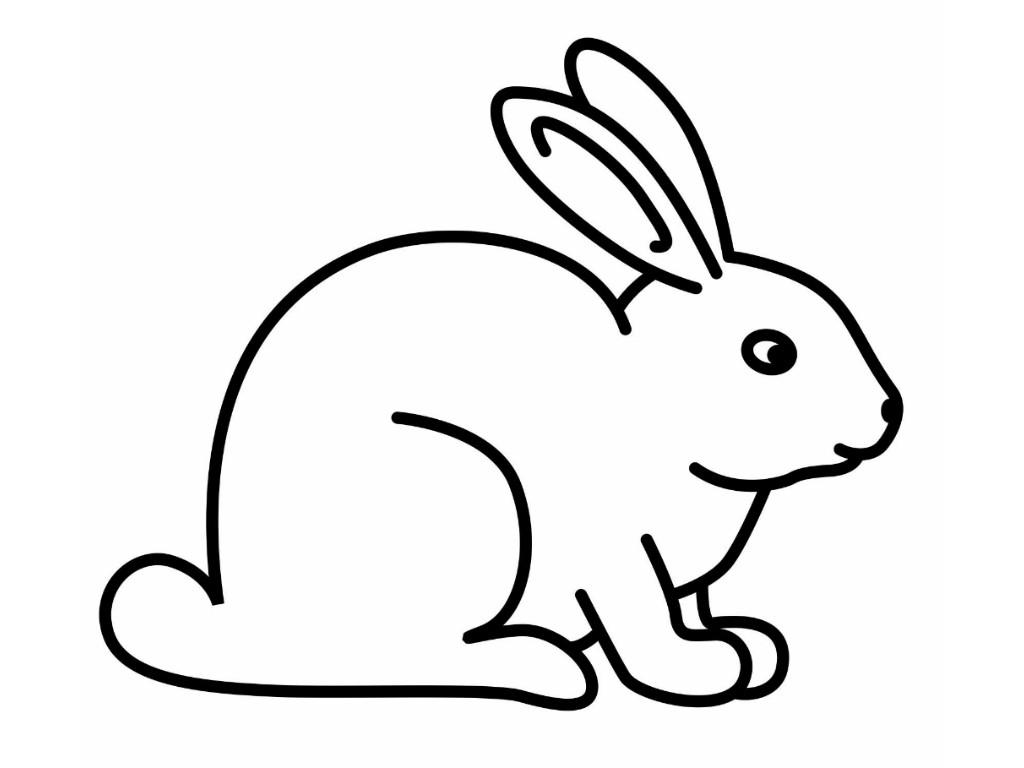 black and white stock Rabbit clipart. Rabbitclipart bunny clip art.