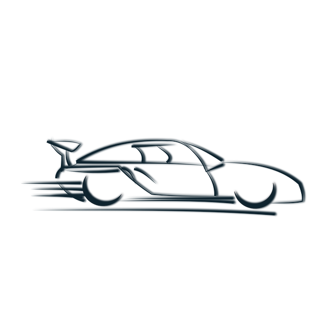 clip art freeuse stock Black And White Race Car PNG Transparent Black And White Race Car