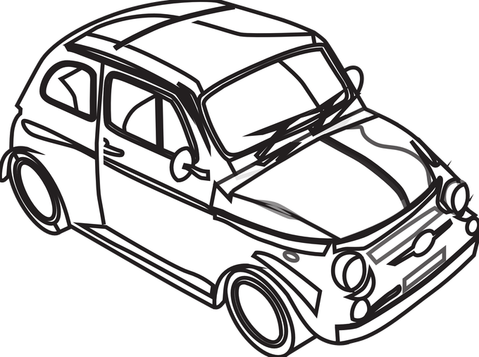 jpg royalty free library Of techflourish collections images. Race car black and white clipart