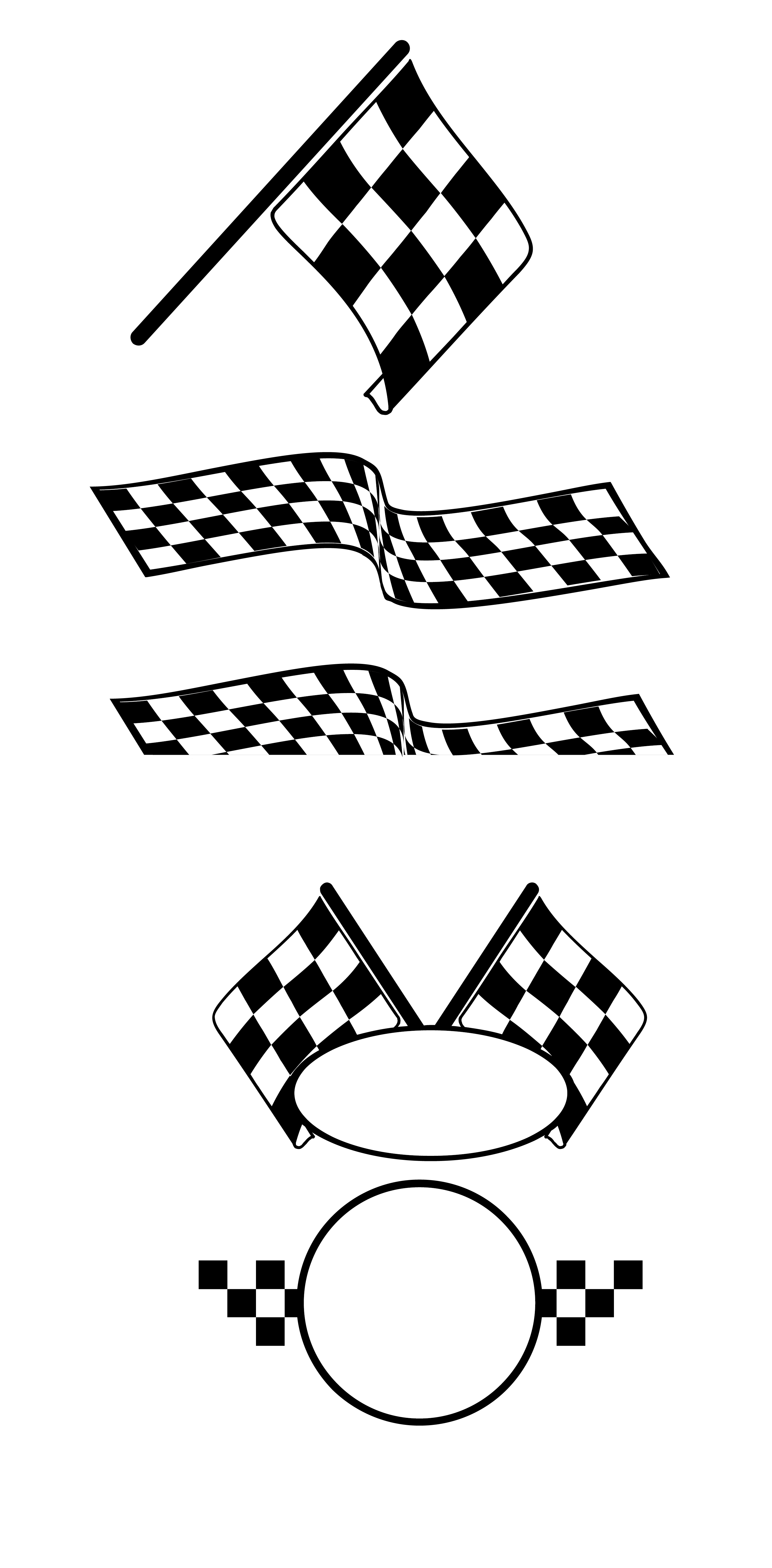 png library download Race car black and white clipart. Auto racing flags vector