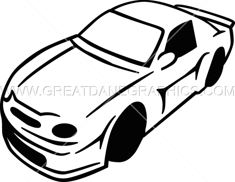 clip art black and white Race car black and white clipart. Two tone production ready