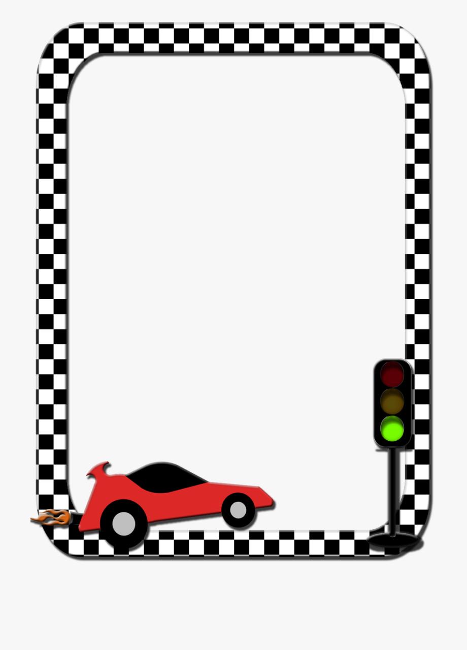 svg transparent library Race car border clipart. Transparent flag png page