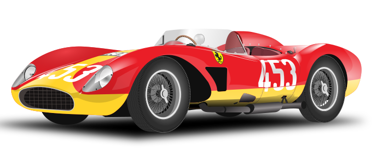 banner library library Race car free to use clipart