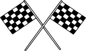 clip free Motor racing flags clip. Race clipart