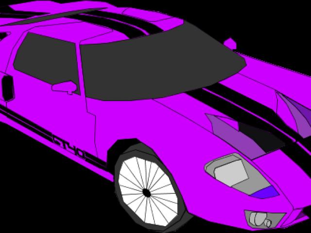 vector transparent stock Race Car Clipart simple