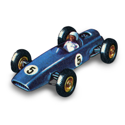 clip library library BRM Racing Car Icon
