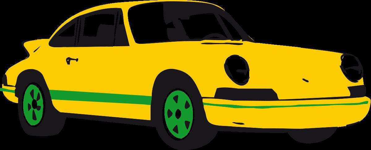 vector Race Car Clipart animated