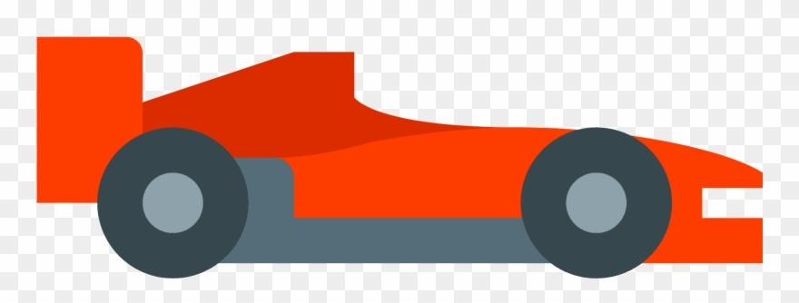 clip Racecar clipart side view. Car wheel race icon.