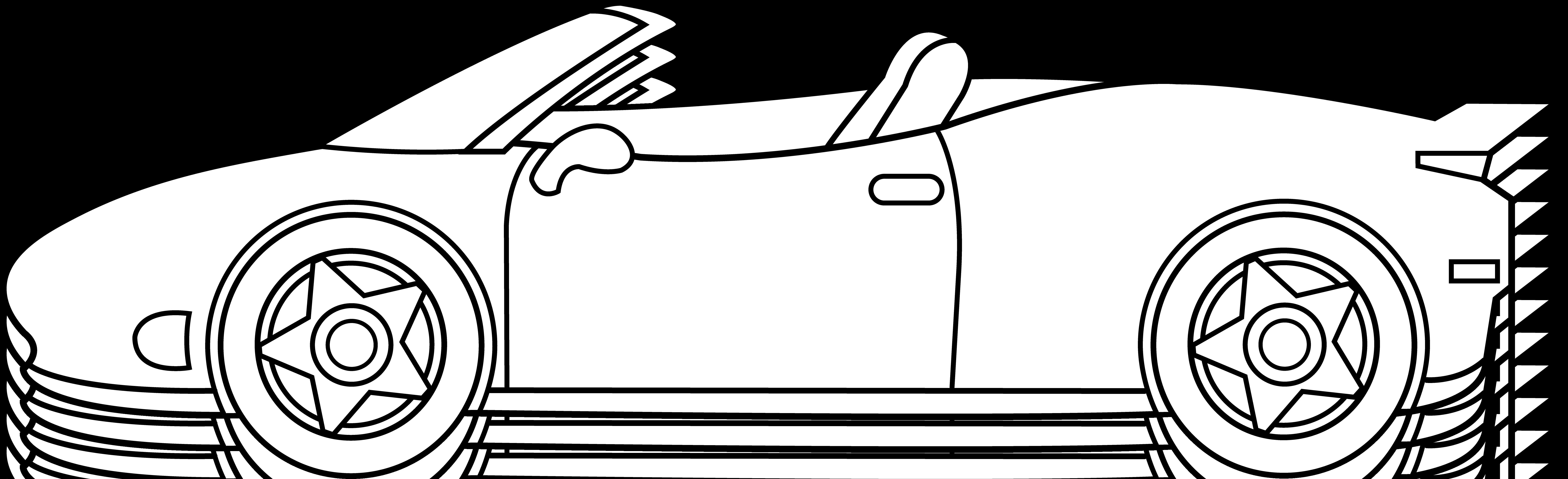 picture freeuse Cartoon clip art eskay. Race car black and white clipart