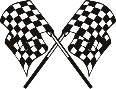 free library Download flag free png. Racing clipart.