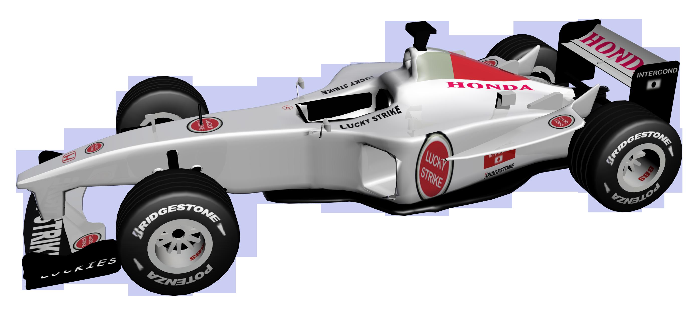 graphic free stock Honda f formula car. Racing clipart motorsport