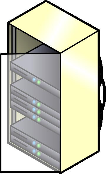 svg transparent stock Rack Mounted Blade Servers Clip Art at Clker