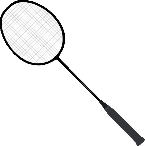 vector freeuse Racket clipart. Badminton clip art at.