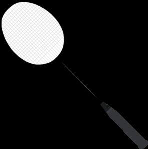 banner royalty free stock Badminton Racket Clip Art at Clker