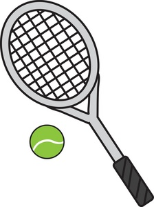 picture free download Tennis racket clipart. Panda free images .