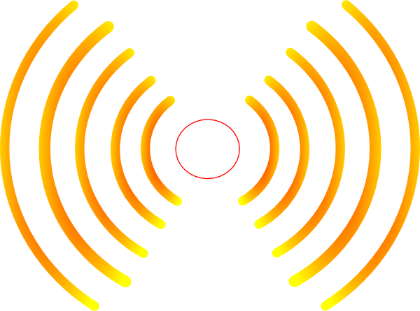 picture transparent library Atmospher Radio Wave Clipart