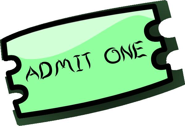 vector transparent stock Raffle Ticket Clipart