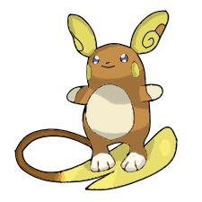 clipart royalty free stock Alolan by mariomantj on. Raichu drawing