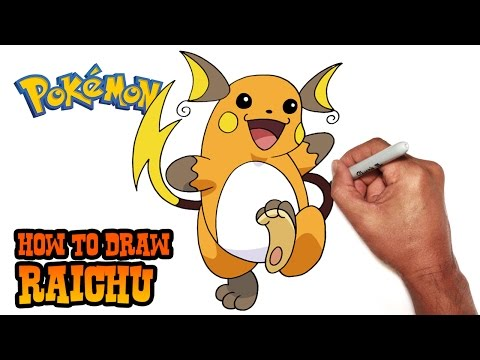 jpg royalty free stock Raichu drawing lowland. How to draw pokemon