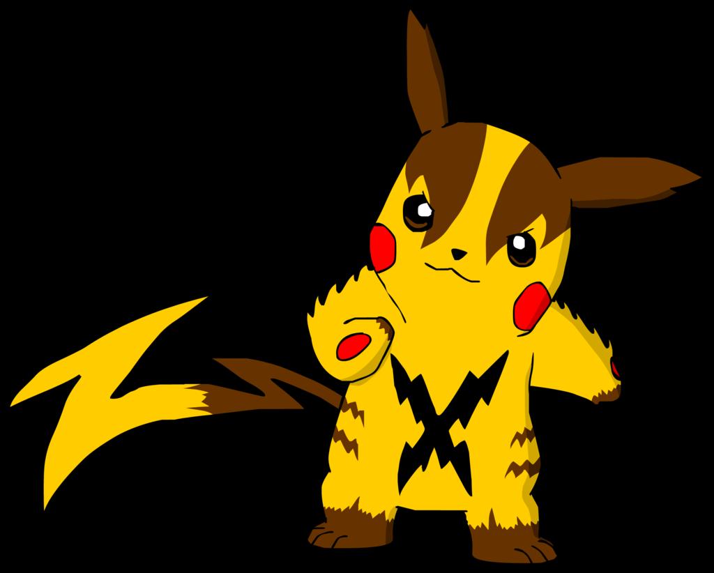 clipart freeuse stock My Mega Pikachu Design by AsylusGoji