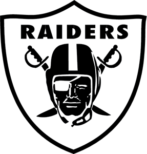 svg library stock Raiders logo vectors free. Vector crest silhouette
