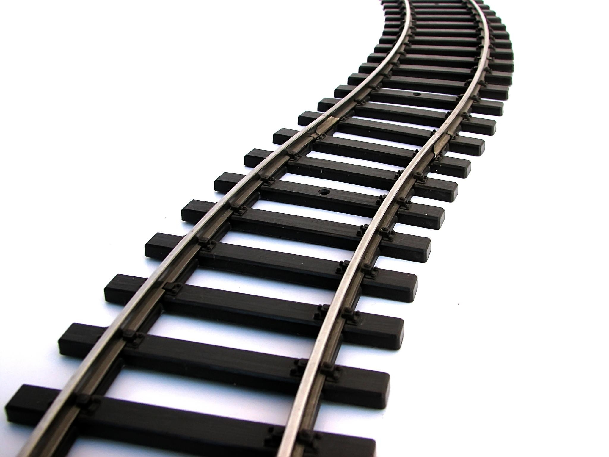 clip royalty free library Unique train tracks clip. Railroad clipart.