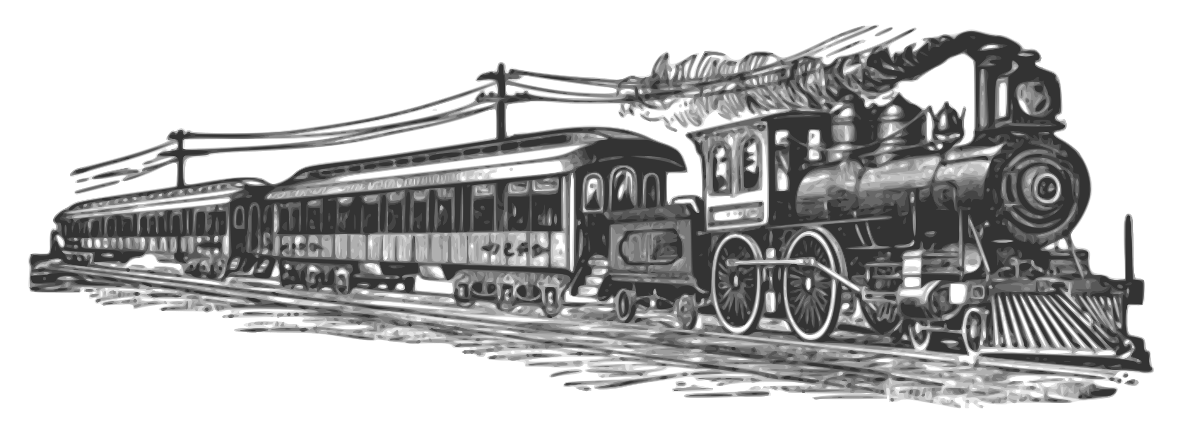 clip art free stock Railroad clipart. Far west train png.