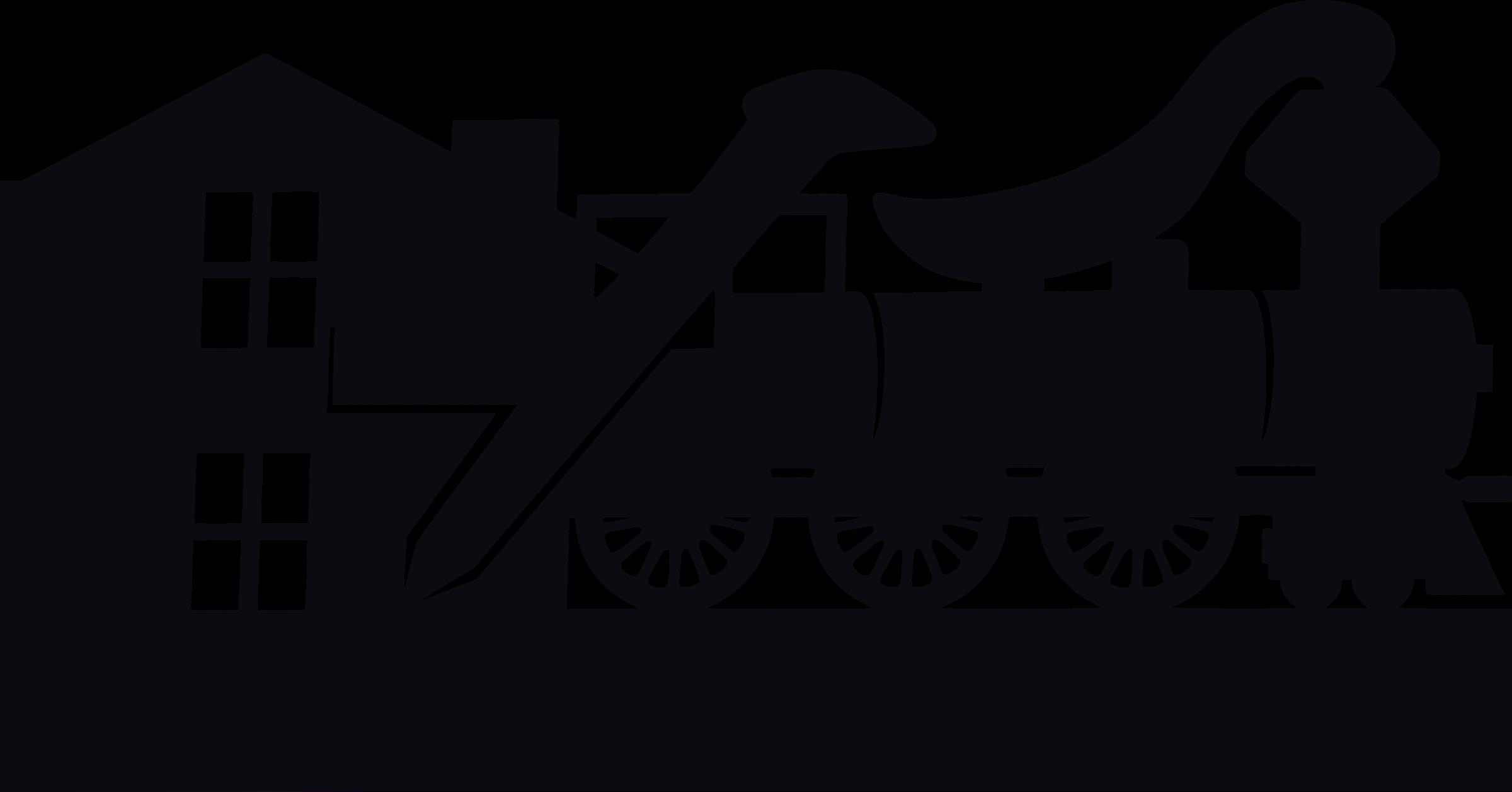 clip art transparent download Railroad clipart. Logo no text big.