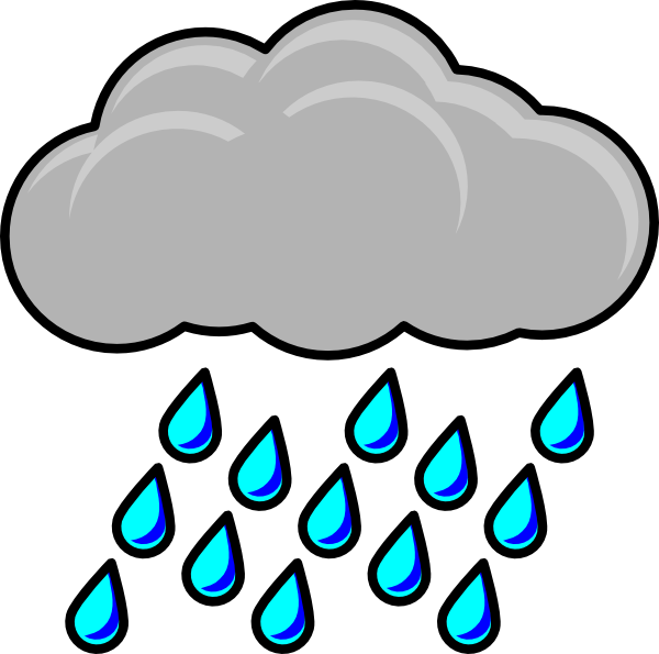 black and white download Wet clipart rain cartoon. Pictures panda free images
