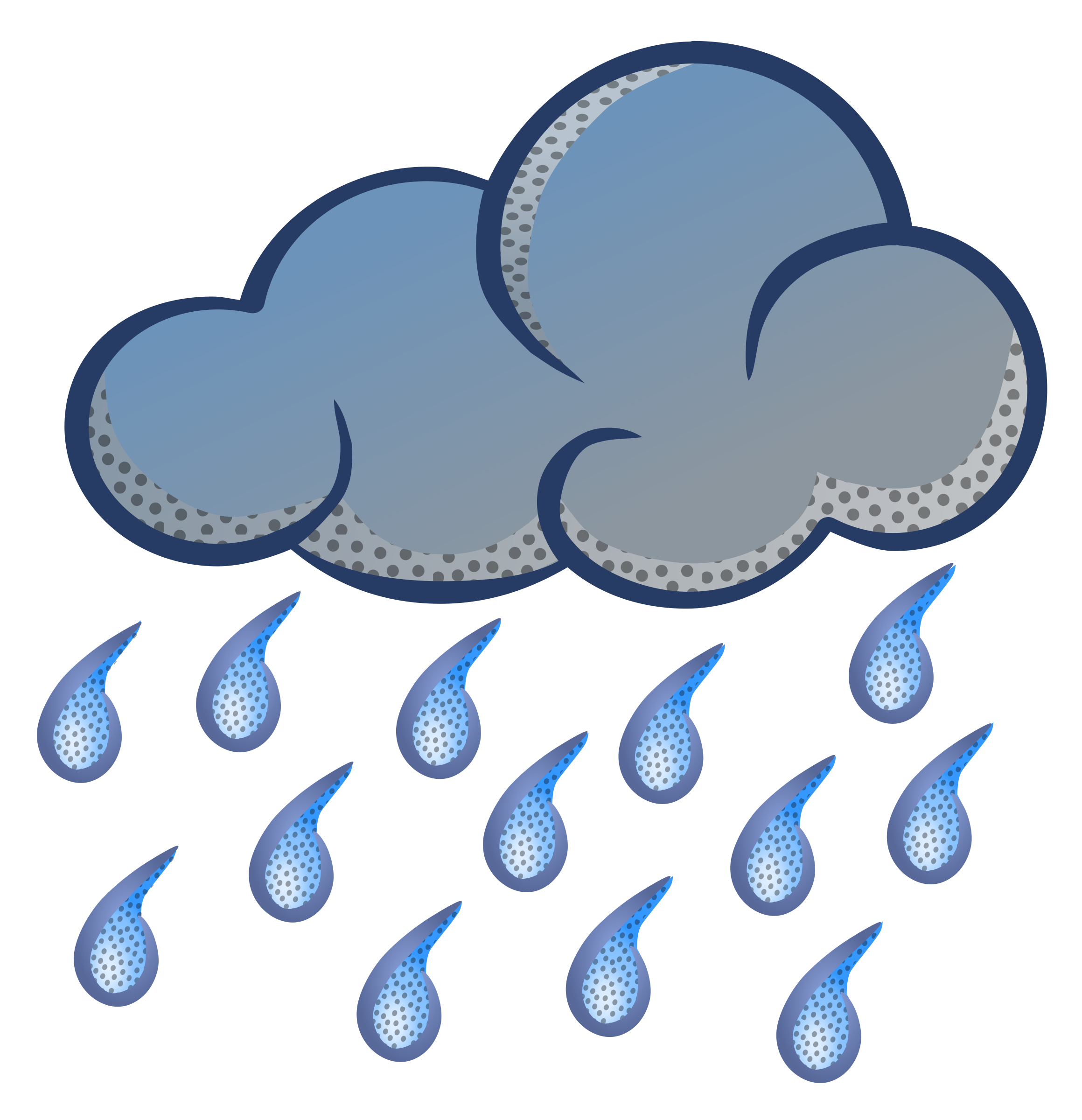 graphic freeuse Png free download fourjay. Rain clipart.
