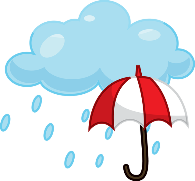svg library stock Happy rainy day clipart. Rain png design ideas