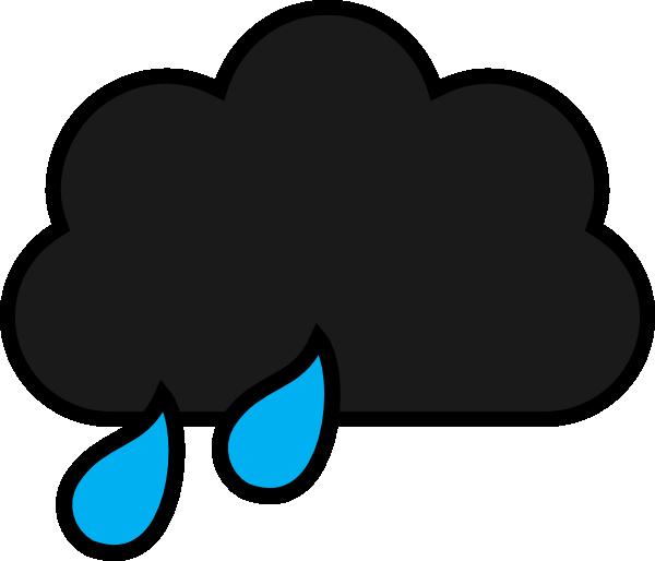 clip art download Rain Cloud Clip Art at Clker