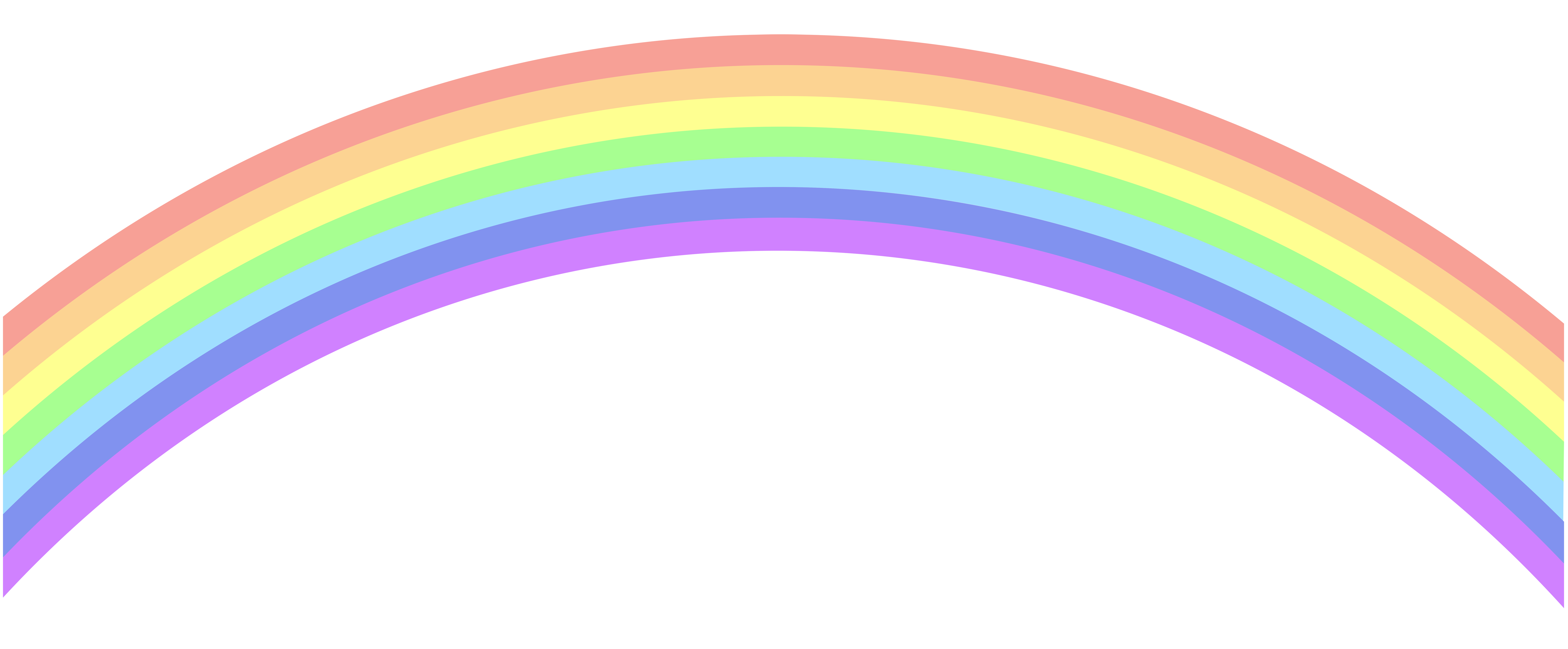 clipart library library Rainbow clipart. Clip art png image