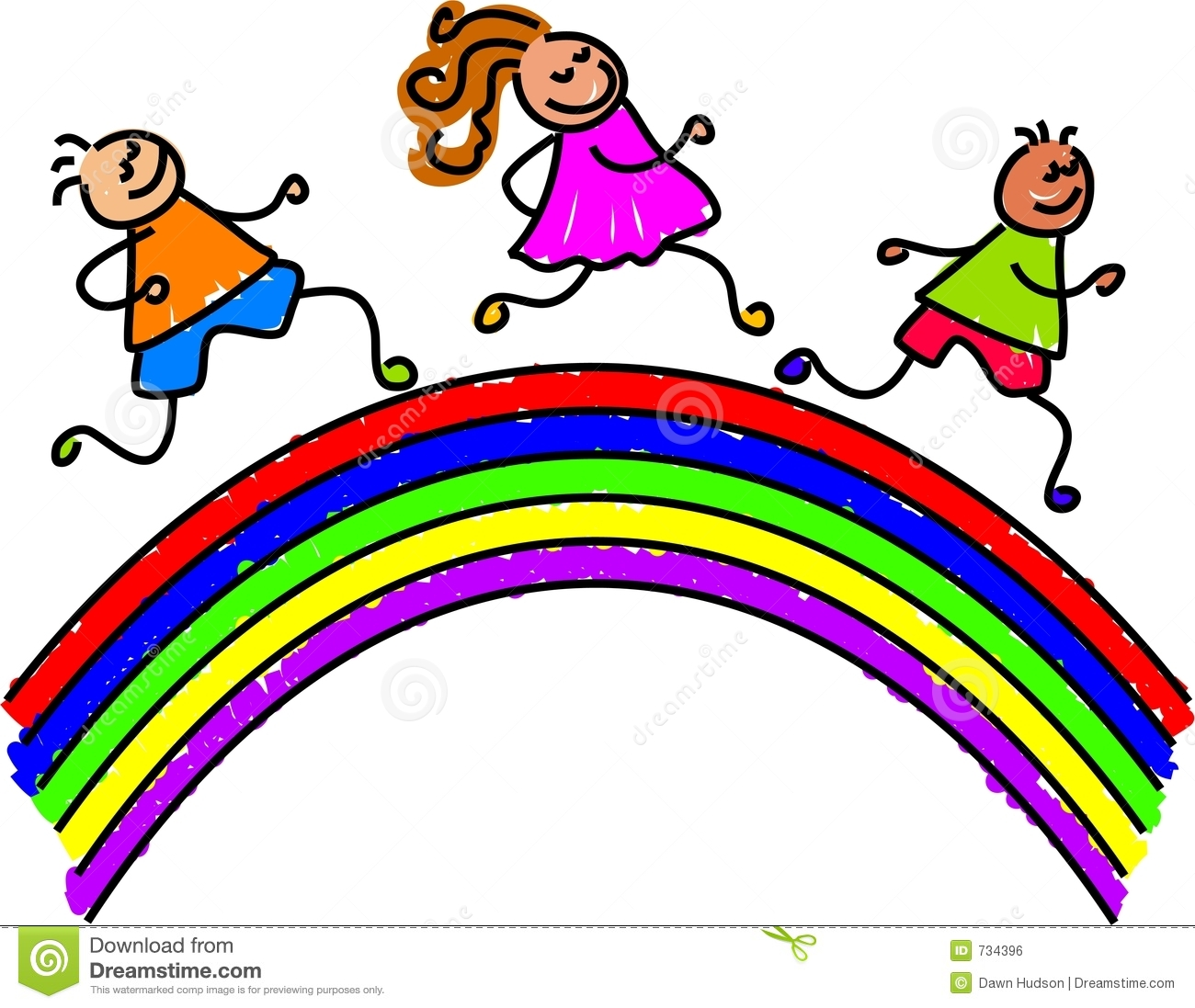 jpg download Rainbow clipart for kids. Panda free images