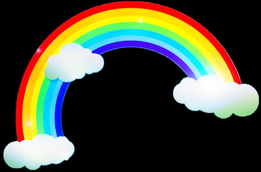 vector free stock Google rainbows pinterest . Rainbow clipart for kids