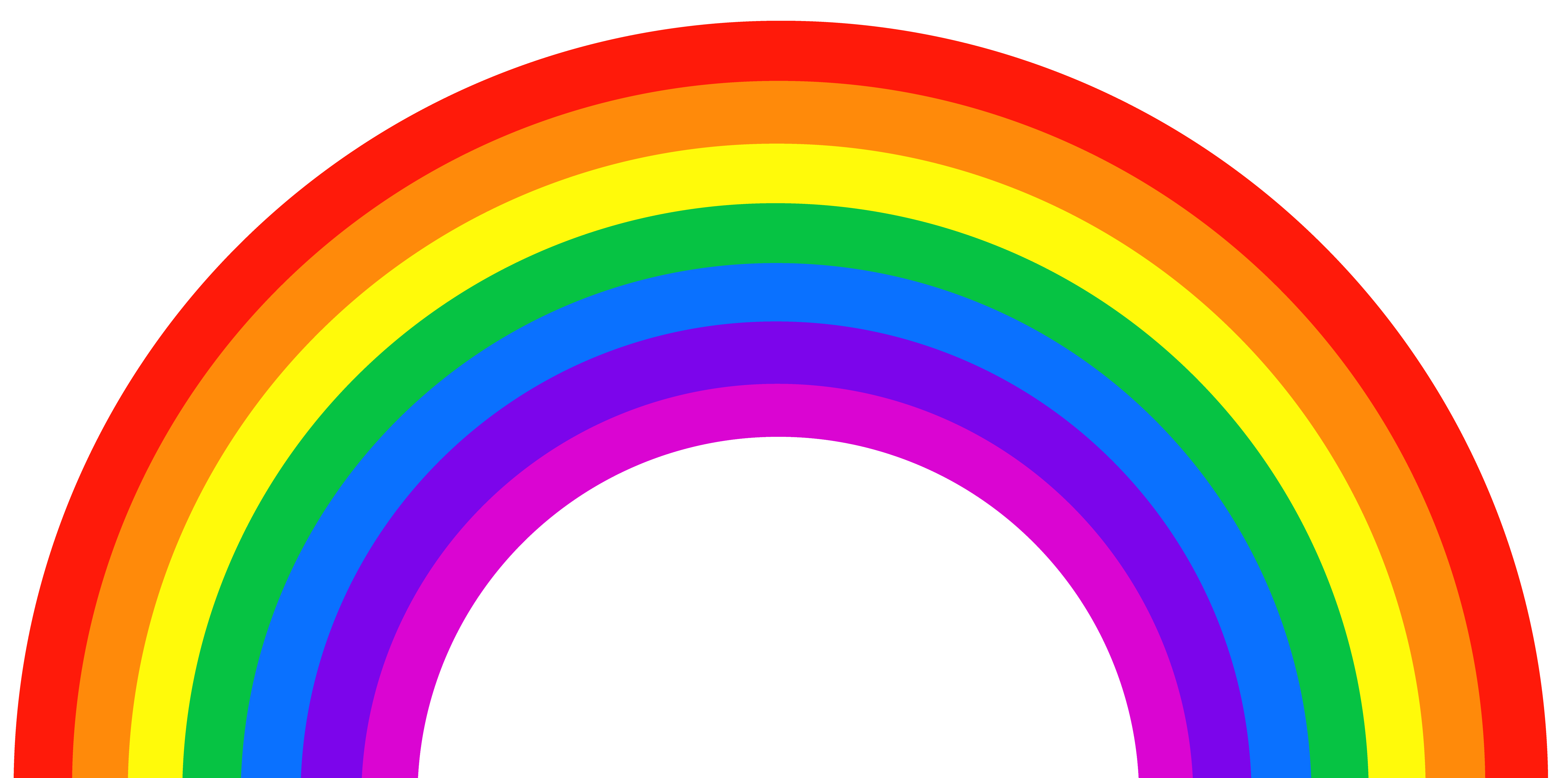 freeuse Png picture gallery yopriceville. Rainbow clipart for kids