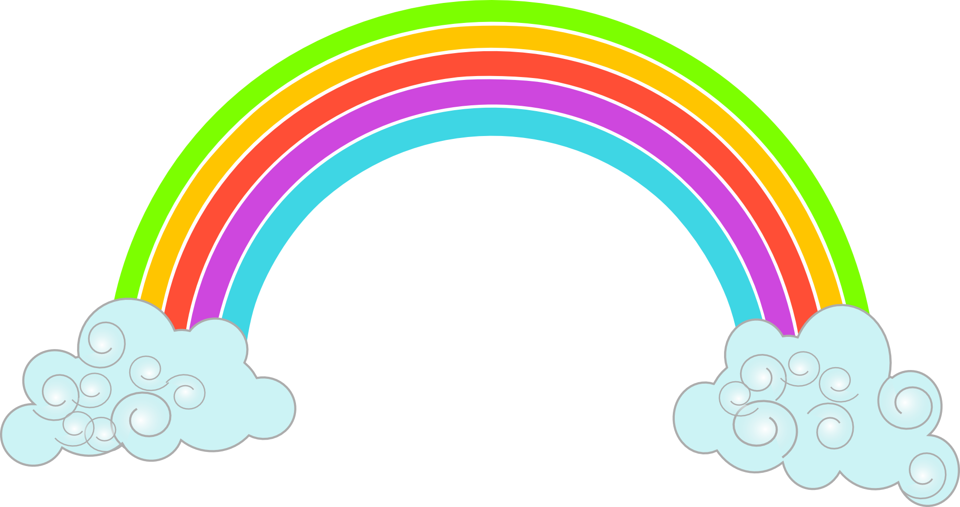 royalty free Rainbow Clipart Png Image Transparent Free Download