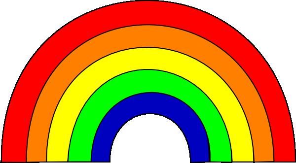clip art freeuse library Rainbow Clip Art at Clker