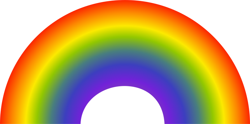 graphic freeuse Free Rainbow Clip Art Pictures