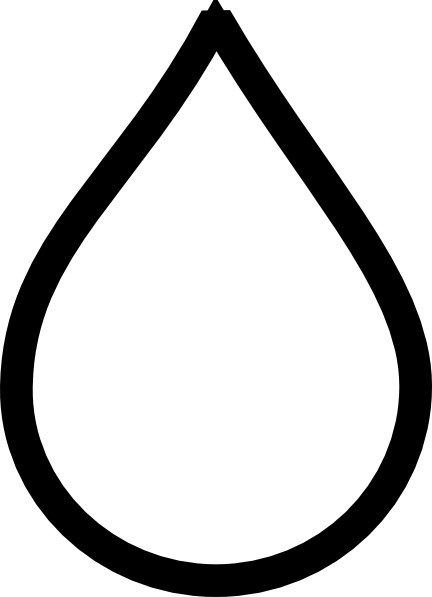jpg library library Raindrop black and white clipart.  collection of high