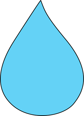 png freeuse download Raindrop clipart. Blank science art clip.