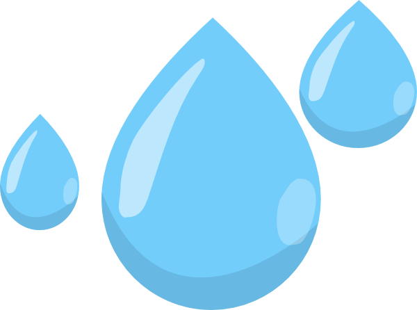 picture royalty free library Cartoon Raindrop Clipart
